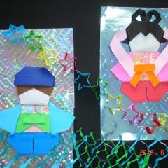 折り紙で七夕飾りの折り方!織姫・彦星・笹などの簡単