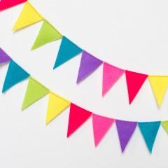 ガーランドとは誕生日に使える無料テンプレートを使った作り方を紹介