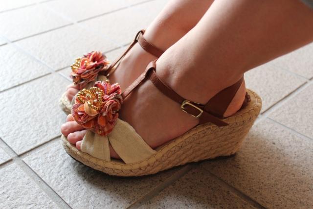 サンダルの靴擦れはどうやって防止するの?対策と予防方法をご紹介